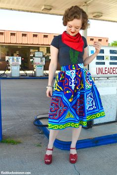 Flashback Summer: Egyptian Ramadan Fabric Skirt Ramadan Crafts, Ramadan Decorations, Retro Outfits, Islamic Art, Eid, Skirt Fashion, Her Style, Lifestyle Blog, Egyptian