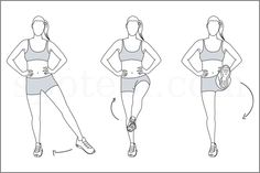 Standing leg circles exercise guide with video instructions, benefits, sets and reps. Learn proper form, calculate the number of calories burned and choose a workout. http://www.spotebi.com/exercise-guide/standing-leg-circles/