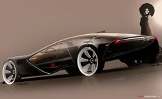Vauxhall Monza Concept - Never seen a Vauxhall look like this!