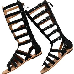 Pre-owned Ash Nymphea New Black Sandals ($196) ❤ liked on Polyvore featuring shoes, sandals, new black, black sandals, wide width sandals, famous footwear, gladiator sandals shoes and ankle strap shoes