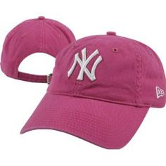 Hot Pink Yankees Hat...just for me!