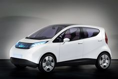 groovy european electric car w/solar charge and hip design