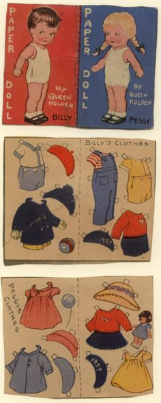 Boy and Girl paper dolls 29