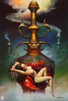 Opium Dream by Boris Vallejo 1981