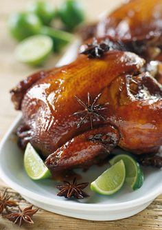 Star Anise Chicken Thighs With Meyer Lemon Recipes — Dishmaps