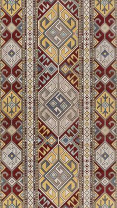 Excellent simple ideas for your inspiration Textile Pattern Design, Textile Patterns, Embroidery Patterns, Print Patterns, Textiles, Bohemian Pattern, Art Case, Ethnic Patterns, Border Print