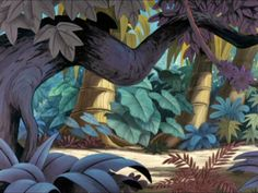 Animation Backgrounds: PETER PAN - NEVERLAND!