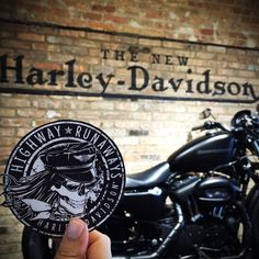 Do you have a great sense of adventure? Show your free spirit by scooping up a #HwyRunaways sticker.   Harley-Davidson