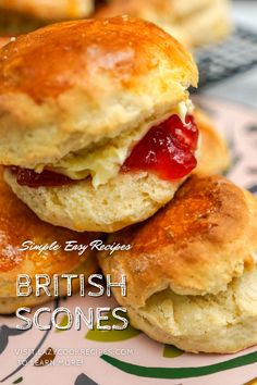 Scones are the easiest British tea time treat that you can make them from storecupboard ingredients within 30 minutes. These scones are best served with jam and clotted cream.  It is an authentic British cuisine recipe with simplified steps and ingredients required! Check out our website where could you find the written step by step recipes with images and videos to teach you how to become a better cook at home!