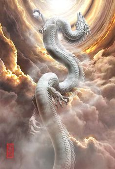 Dark Fantasy Art, Beautiful Fantasy Art, Fantasy Artwork, Mythical Creatures Art, Magical Creatures, Mythical Dragons, Dragon Dreaming, Dragon Artwork, Fantasy Beasts