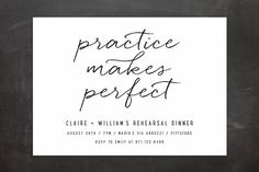 Perfect Practice Reh