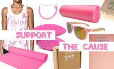 This month, companies all over the globe are joining together in support of awareness and research for breast cancer. Pink products that feature the iconic