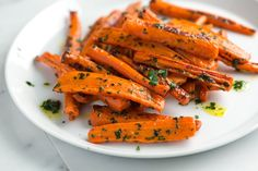Roasted Carrots with Parsley Butter