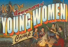 Read about the History of the LDS Young Women Organization, from 1869 to present. Includes pictures.