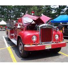 1959 Mack B 85F Fire Truck
