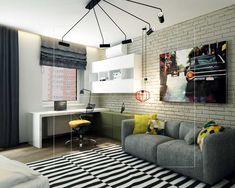 дизайн-интерьера-в-современном-стиле-комната-подростка