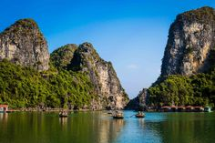 Halong Bay floating village - Vietnam