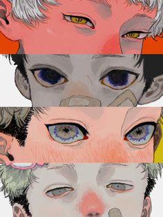 Manga Art, Anime Art, Character Art, Character Design, Cute Art Styles, Anime Eyes, Pretty Art, Character Illustration, Portrait Art