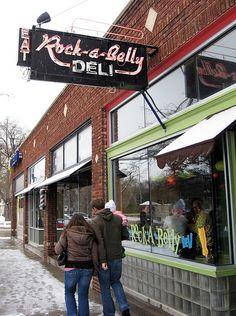 Rock-a-Belly Deli, Aggieville by Blake Gumprecht, via Flickr