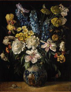 Arthur Zahn - Flower Still-life