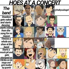 Haikyuu Karasuno, Haikyuu Funny, Haikyuu Manga, Haikyuu Fanart, Oikawa, Kuroo, Haikyuu Characters, Anime Characters, Anime Chart