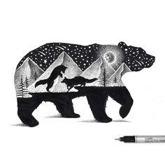 Une sélection des délicates illustrationsdeThiago Bianchini, un graphic designer et illustrateur brésilien, basé àSão Paulo, qui combine nature et a
