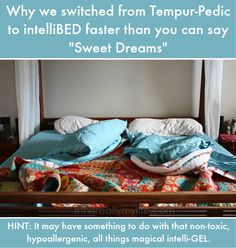 Tempurpedic vs intelliBED - why we switched to intelliBED faster than you can say Sweet Dreams