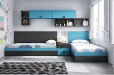 Dormitorio juvenil / Youth bedroom www.decorhaus.es/es/ #muebles #Málaga #furniture