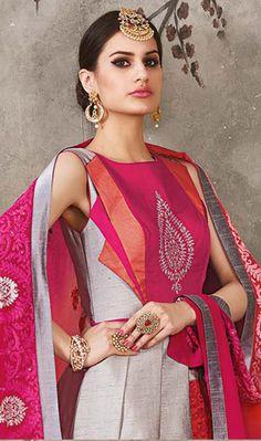 Pink Color Silk Heavy Embroidered Designer Lehenga Choli