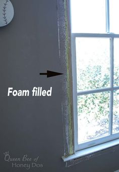 Diy How To Insulate Around Windows If You Have Cold Or Hot Air Coming