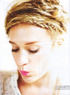 Chloe Sevigny hair: I need to get Madame Mitchell to help me figure out how to do this hairstyle.