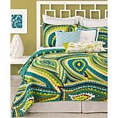 Trina Turk Bedding, Vivacious Printed Coverlet Collection (www.macys.com)