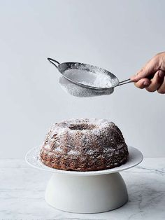 Yotam Ottolenghi and Helen Goh's prune cake recipe with brandy and walnuts is deliciously boozy and makes a decadent festive dessert. Meringue Roulade, Prune Cake, Best Christmas Recipes, Dessert Places, Fennel Salad, Walnut Cake, Yotam Ottolenghi, Cake Plates, Clean Eating Recipes