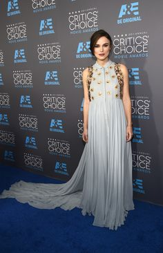 Keira Knightley in Delpozo at the Critic's Choice Awards