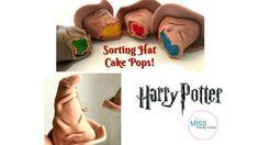 HARRY POTTER SORTING HAT CAKE POPS! - CakesDecor