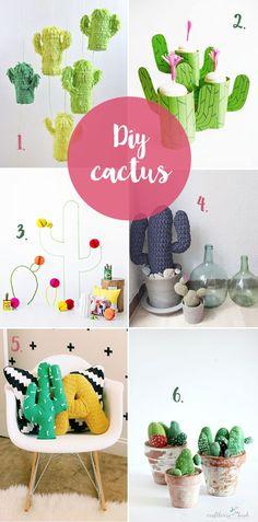 Diy para los amantes de los cactus