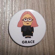 Chapa de la estilista Grace Coddington en por SuplementoDeModa
