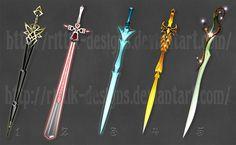Swords (set 2) by Rittik-Designs on DeviantArt