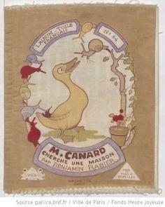 M. Canard cherche une maison / par Benjamin Rabier - 1,  collections numérisées dans Gallica, Fonds Heure Joyeuse (Paris)