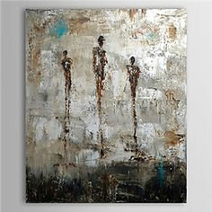 Hand Painted Oil Painting Abstract 1305-AB0570