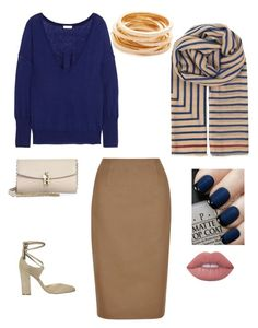 """Untitled #8"" by carrie-sullivan13 ❤ liked on Polyvore featuring Ivanka Trump, Hobbs, BeckSöndergaard, Eres, Kenneth Jay Lane, Dolce&Gabbana, OPI and Lime Crime"