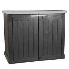 Keter Store It Out Lounge Shed kopen? shop bij vtwonen by fonQ! Industrial Furniture, Rustic Furniture, Living Room Furniture, Home Furniture, Outdoor Furniture, Outdoor Decor, Lounge, Brown Couch, Aluminium