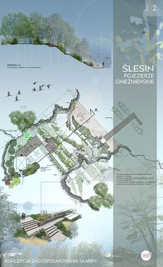 Landscape Architectural Presentation Board