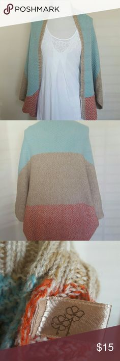 Knit Cardigan Gently used no rips nor stains.  Don't know brand name Tops
