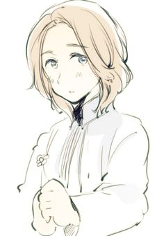 THIS IS OFFICIAL ART. FRANCE IS OFFICIALLY THE MOST ADORABLE HETALIA CHARACTER. NOW WE KNOW WHERE CANADA GETS IT