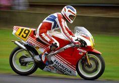 Doningthon Park 1987 FREDDIE SPENCER Freddie Spencer, Honda Motors, Racing Motorcycles, Road Racing, Grand Prix, Motorbikes, Super Cars, Biker, Diorama