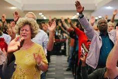 Thank you family for your willing hearts this morning! We are no longer slaves to fear and we are all God's children!