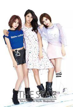 YuNa, Seol Hyun & MinA