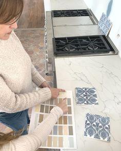 Planning & Prepping 😍 Tile Floor, Kitchen Design, Prepping, Kids Rugs, Flooring, How To Plan, Studio, Crafts, Instagram