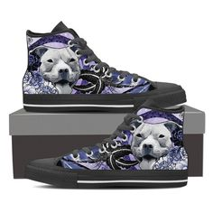 Lace-up for snug fit with metal eyelets for a classic look. Classic Looks, Snug Fit, Converse Chuck Taylor, High Tops, Pitbulls, High Top Sneakers, Lace Up, Blue, Shoes